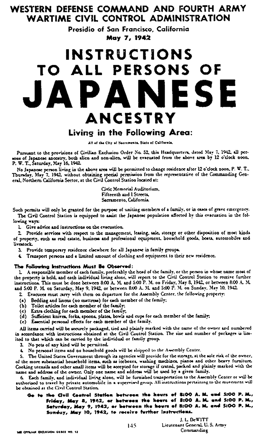 Japanese American Legal History (The Internment) | Greg Leitich Smith