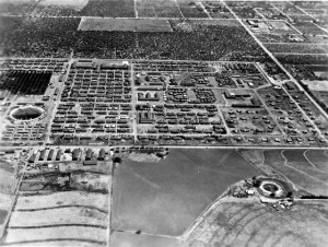 Crystal City Internment Camp.  Photo courtesy Texas Historical Commission